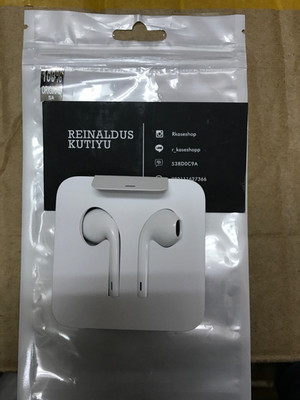headset earpod handsfree lightning original iphone 7 - 7 PLUS
