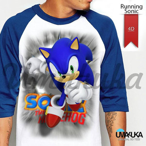 Spesial Kaos 4D Umakuka RUNNING SONIC