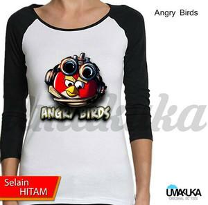 Jual Kaos 3D Umakuka Original - ANGRY BIRD