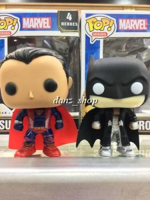 Pop Funko Bootleg Superman / Batman