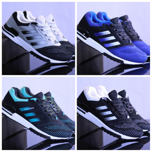 SEPATU ADIDAS FLYKNITE MEN 4 WARNA SNEAKERS MADE IN VIETNAM SZ.39-45