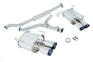 Subaru WRX 11-14 (4 DR Only) Burnt Roll Tips
