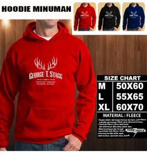 JAKET HOODIE MINUMAN George T Stagg Hoodie/Sweater/No Zipper