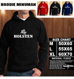 JAKET HOODIE MINUMAN HOLSTEN Hoodie/Sweater/No Zipper
