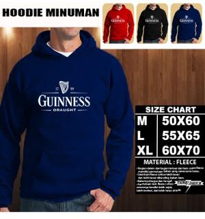 JAKET HOODIE MINUMAN GUINNESS Hoodie/Sweater/No Zipper