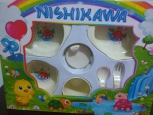 Perlengkapan Mpasi Feeding Set alat makan baby (new, Ex kado)