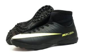 sepatu futsal nike mercurial original premium black 39-44