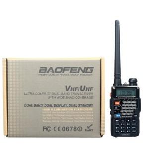 Walkie Talkie Baofeng 5W 128CH (BFUV5RE Plus)