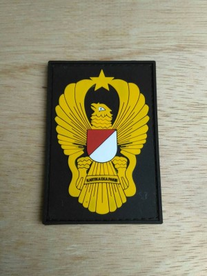 patch rubber ekapaksi tni ad / pacth rubber tactical