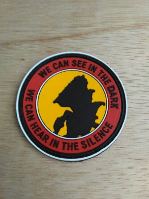 patch rubber we can see in the dark - rubber patch tactical