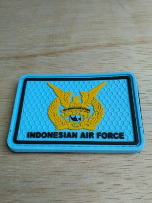 patch rubber TNI AU - rubber patch tactical TNI AU
