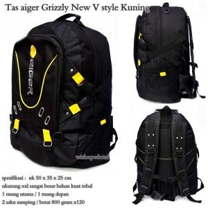 tas punggung pria aiiger super grizzly V style kuning