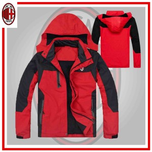 Jaket Bola Distro MILAN - JAKET ADVENTURE MILAN RED