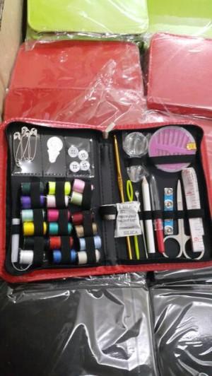 SEWING set Alat jahit Dompet peralatan benang jarum lengkap TRAVELLING