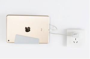 Tempat dudukan charge HP plastik lucu unik murah/handphone ORGANIZER