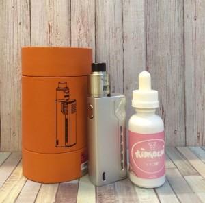 Paket Starter Kit Tesla Terminator Plus Liquid Kimochi 3mg/30ml