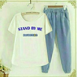 baju setelan LQ 05-Stelan Standbyme