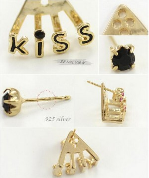 Earring KISS / Anting Red Kiss