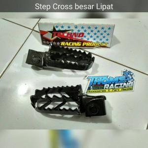 step cross besar lipat