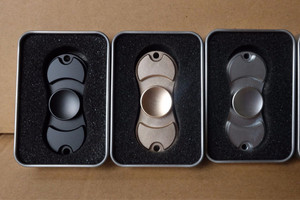 FIDGET SPINNER METALIC HAND SPINNING GYRO -2