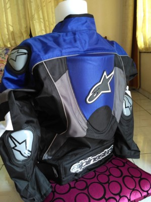 Jaket Motor Protector/Racing ALPINESTAR MOTO GP,Touring/HarianTebalKua