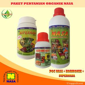 Paket Pertanian Organik Nasa Lengkap (POC NASA + Hormonik + Supernasa)