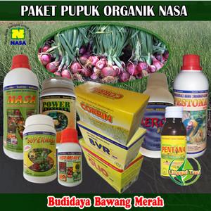 Paket Pupuk Budidaya Bawang Merah Organik Nasa Lengkap