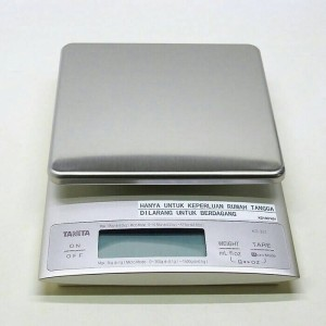 [AKURAT] TANITA Timbangan Digital Dapur Kue Kopi Coffee Scale KD-321