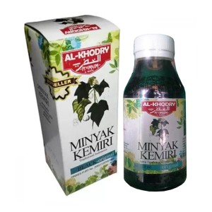 Minyak Kemiri Al Khodry Premium Penumbuh Penyubur Rambut - 125 ml