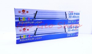 lampu led aquarium aquascape yamano p400 p 400 5 watt