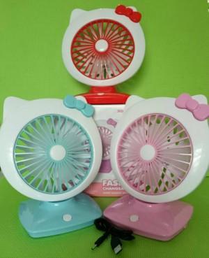 Fashion Changeable Fan / Mini Fan / Kipas Angin Mini Hello Kitty