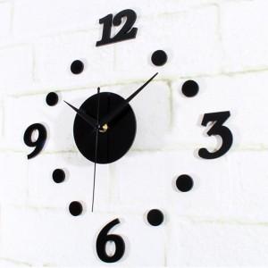 DIY Acrylic Wall Clock 30-50cm Diameter - Jam Dinding