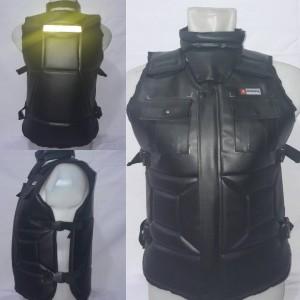 Rompi Motor Kerah / Touring / Biker / Body Protector / Alas Dada