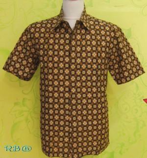 Hem Batik Coklat (P0237v)