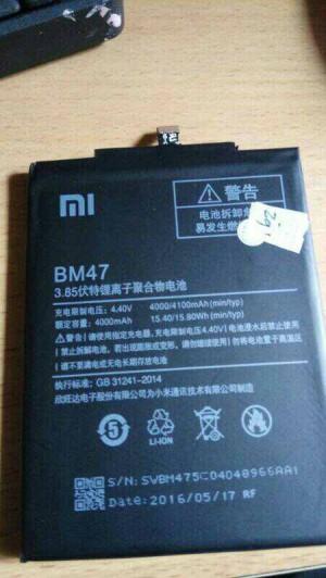 Batre / Battery xiaomi Redmi 3 BM47 BM-47 kualitas original