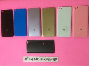 Backdoor Xiaomi 5 Mi5 5.15 inchi Housing Cover Back Case Tutup Blkg HP