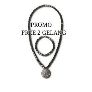Jual Promo Free 2 Gelang Kalung Kesehatan Alsyva Al Syva Black Jade Kota Tangerang Toko Nadya Online Tokopedia