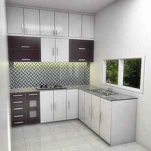Jual kitchen set minimalis mpm indonesia tokopedia for Design kitchen minimalis