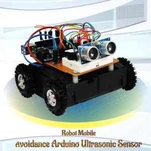 Kit Robot Arduino Wall Avoider (Robot penghindar dinding)