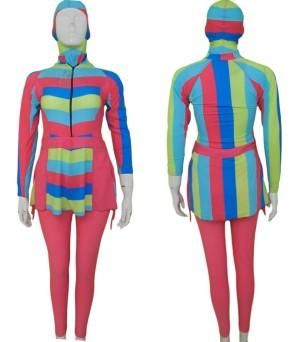 Baju Renang Muslim / Baju Diving Wanita / Kode BRMRD-Pnk, M