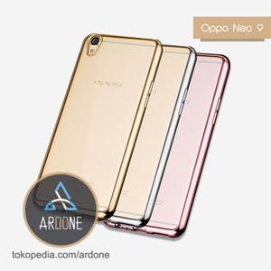 Oppo Neo 9 Neo9 / A37 | TPU Softcase Shining Chrome Soft Case
