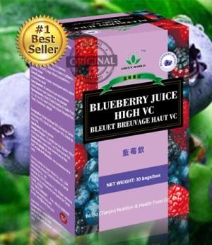 Obat Kudis - Obat Panu - Obat Koreng Paling Ampuh - Blueberry Juice GW