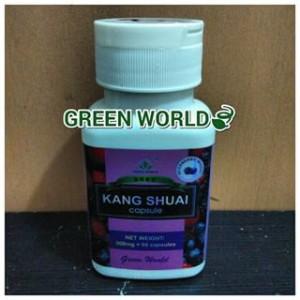 Obat Penuaan Dini - Kang Shuai Capsule Green World