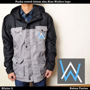 Jaket Parka Alan Walker pria wanita distro waterproof anti air murah