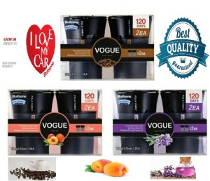Parfum mobil Aroma kopi Espresso,peach, lavender. Vogue Bullsone