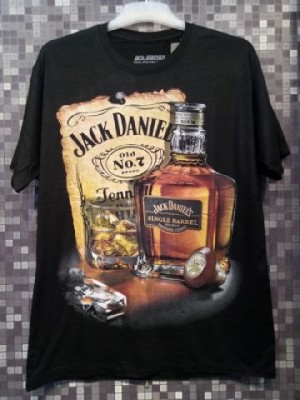 Kaos Spandex Full Print Liquor/Minuman