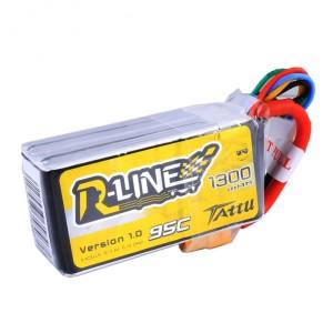 Tattu R-Line 4s 14.8v 1300mAh 95C 4S1P Lipo Battery FPV Drone Racer