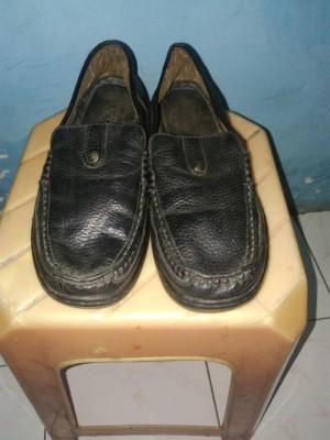 sepatu pantofel fantofel semi kulit
