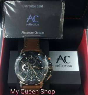 JAM TANGAN PRIA ALEXANDRE CHRISTIE COLLECTION 9205 ROSEGOLD