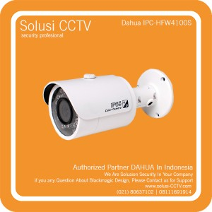 CCTV Dahua IPC-HFW4100S Outdoor